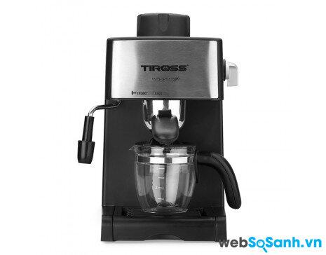 Đánh giá máy pha cà phê Tiross TS-621