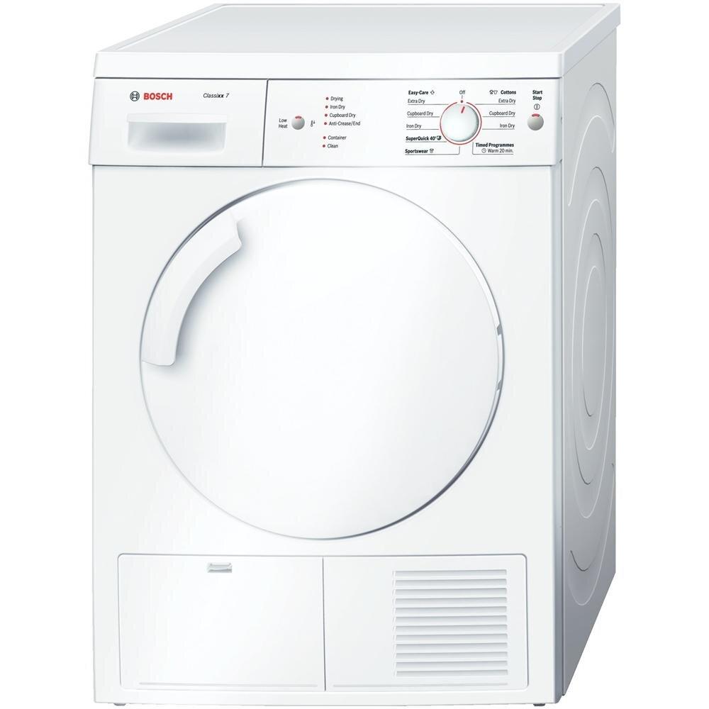 Đánh giá máy sấy quần áo Bosch WTE84105GB: Thiết kế đơn giản, hiệu quả cao