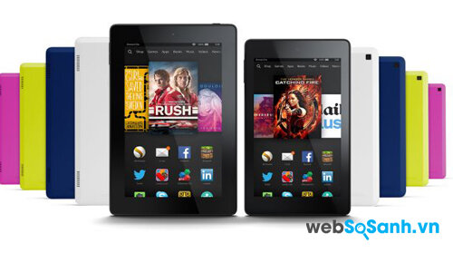 Đánh giá máy tính bảng Amazon Fire HD 7: hiệu năng tốt trong tầm giá