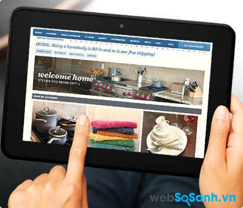 Đánh giá máy tính bảng Amazon Kindle Fire HD 8.9 phiên bản 4G LTE (Phần II)