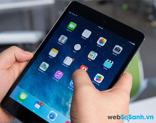 Đánh giá máy tính bảng Apple iPad Mini Retina trải nghiệm mượt mà