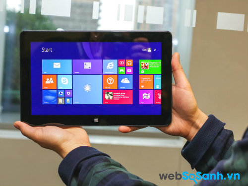 Đánh giá máy tính bảng Dell Venue 11 Pro 7000 (Phần II)