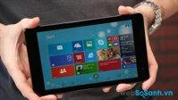 Đánh giá máy tính bảng Dell Venue 8 Pro: Intel Atom Z3740, Ram 2 GB giá 7 triệu đồng