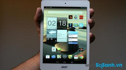 Đánh giá máy tính bảng giá rẻ Acer Iconia A1- 830