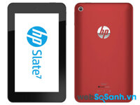 Đánh giá  máy tính bảng HP Slate 7 giá mềm (Phần I)