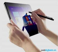 Đánh giá máy tính bảng Lenovo ThinkPad 10 đi kèm bút stylus ( Phần I)