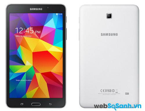 Đánh giá máy tính bảng Samsung Galaxy Tab 4 7.0 pin khỏe, kiểu dáng đẹp
