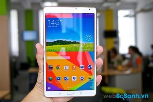 Đánh giá máy tính bảng Samsung Galaxy Tab S2: Đối thủ trực tiếp của iPad Mini