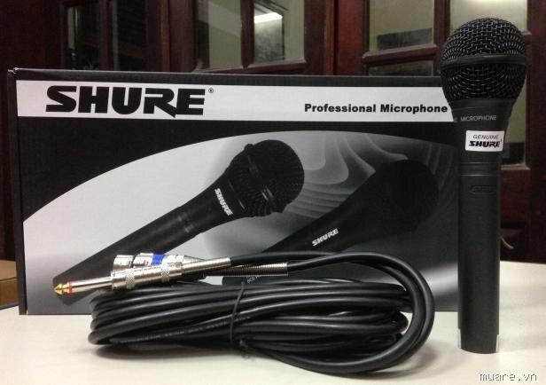 """Đánh giá Micro có dây Shure PG- 8.2 – cho những phút giây giải trí """"chuyên nghiệp"""""""