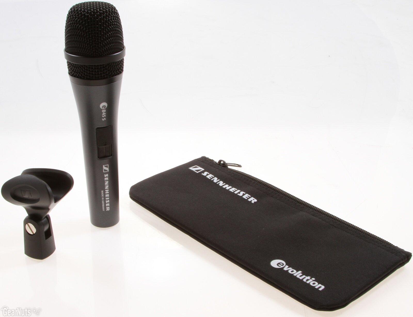 Đánh giá micro không dây cầm tay SENNHEISER E 845