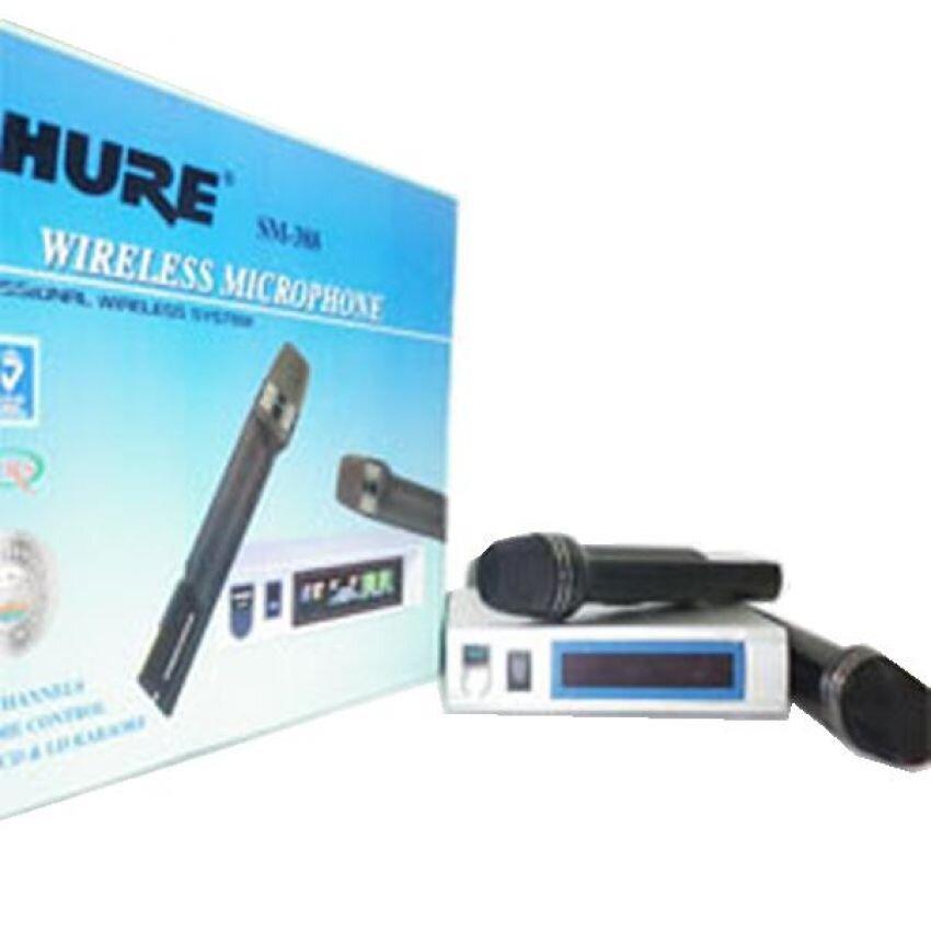 Đánh giá Micro không dây Shure SM-388, tinh hoa công nghệ