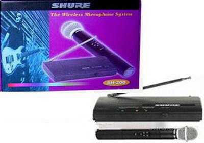 Đánh giá micro không dây Shure SH-200