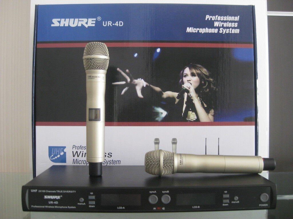 """Đánh giá Micro không dây Shure UR4D loại 1 – chất lượng """"không dây"""" hoàn hảo"""