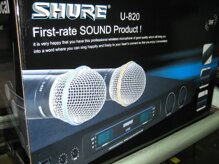 Đánh giá Micro không dây SHURE U820