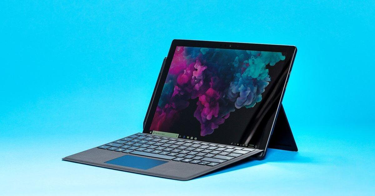 Đánh giá Microsoft Surface Pro 6