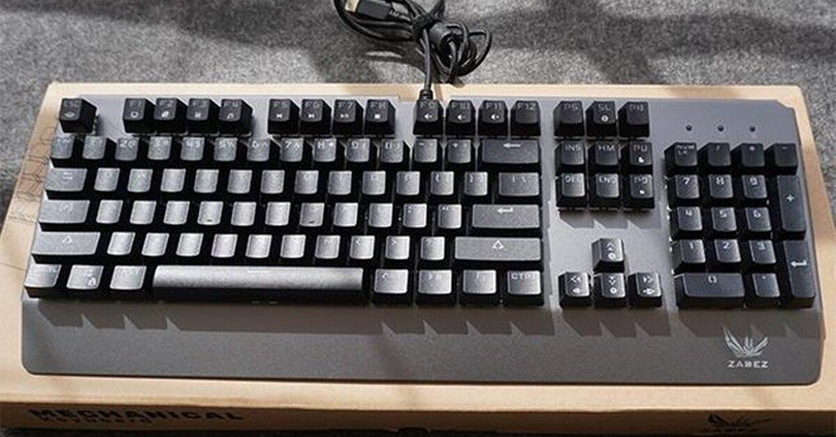 Đánh giá nhanh bàn phím cơ Zades GT-03K