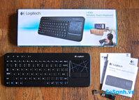 Đánh giá nhanh bộ bàn phím giá rẻ Logitech Wireless Touch Keyboard K400r