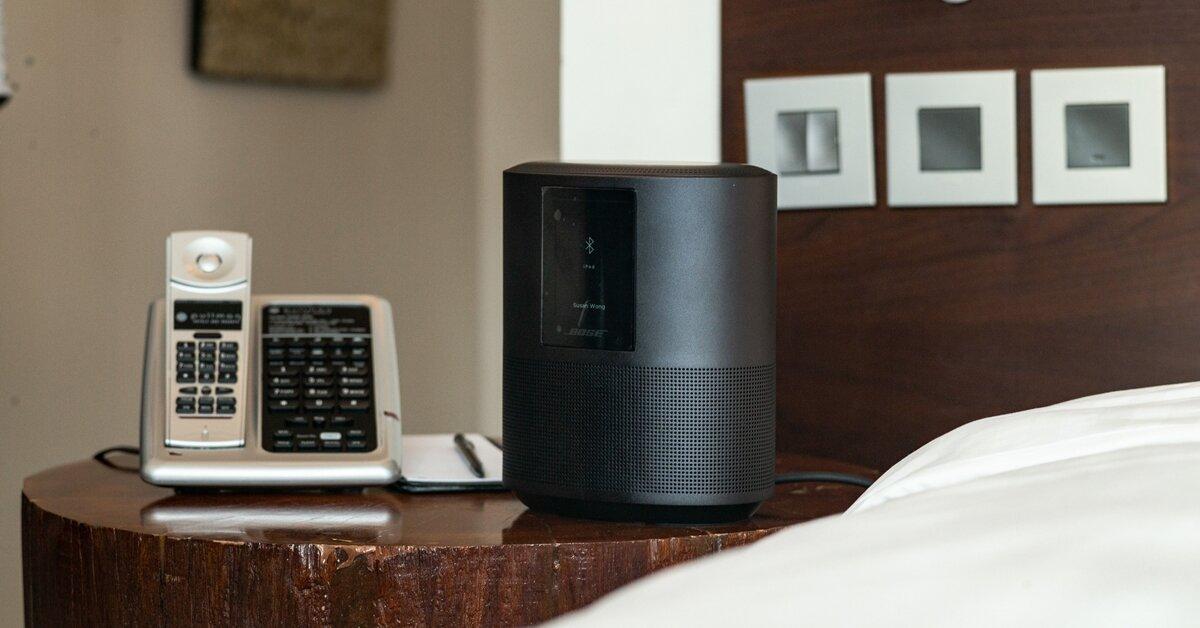 Đánh giá nhanh loa bluetooth không dây Bose Home Speaker 500
