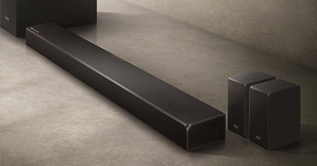 Đánh giá nhanh loa soundbar Samsung HW-N950: Đẹp cổ điển, âm thanh cao cấp
