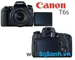 Đánh giá nhanh máy ảnh Canon T6s – Chiếc Rebel chất lượng cao