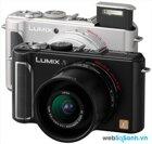 Đánh giá nhanh máy ảnh compact Panasonic Lumix DMC-LX3
