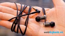 Đánh giá nhanh tai nghe Sony XBA- 1iP