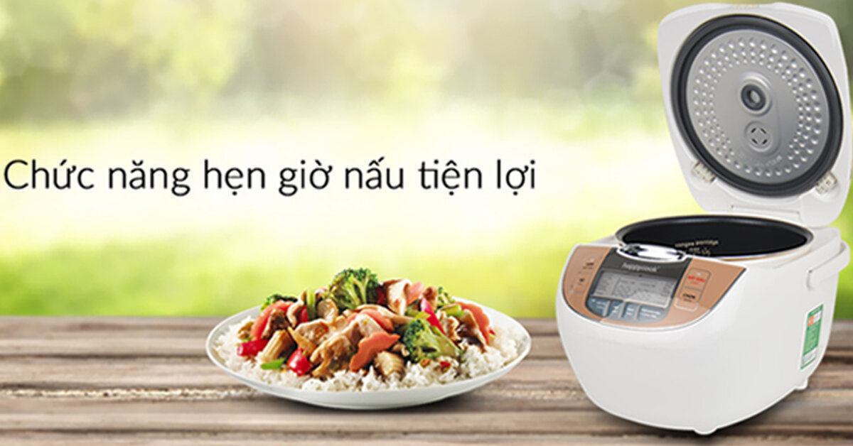 Đánh giá nồi cơm điện Happy Cook có tốt không ? Giá bao nhiêu ? Của nước nào sản xuất ?