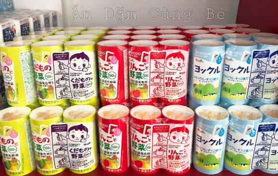 Đánh giá nước hoa quả Wakodo Nhật có tốt không? 3 lý do nên mua cho bé