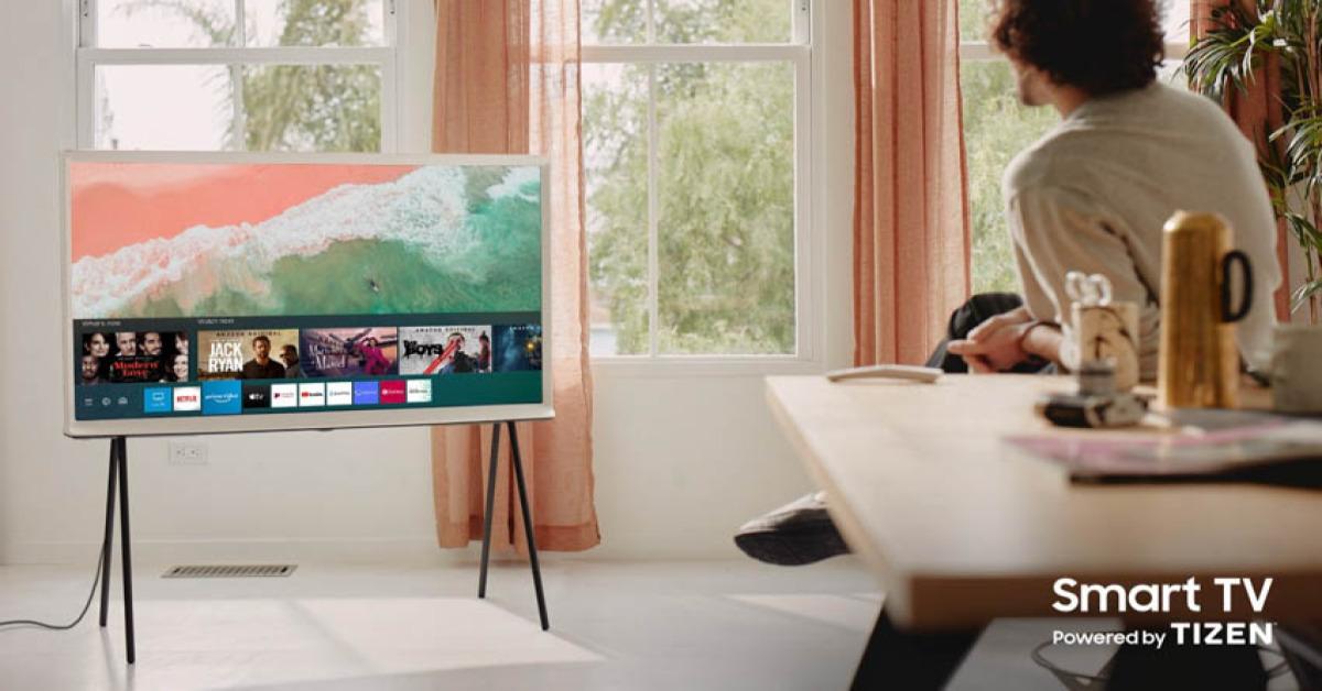 Đánh giá QLED Tivi Serif Samsung 4K 55 inch QA55LS01TAKXXV