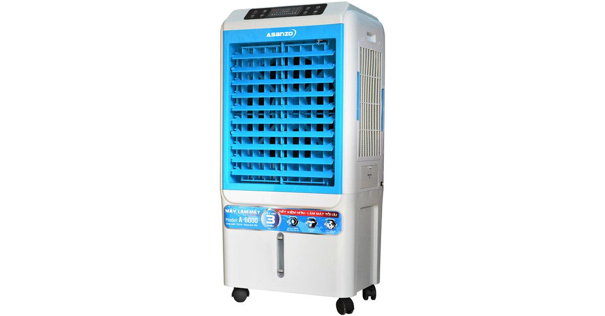 Đánh giá Quạt điều hòa không khí Asanzo A-6000