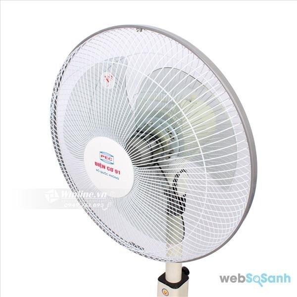 Đánh giá quạt lửng điện cơ 91 QR-CO có hẹn giờ
