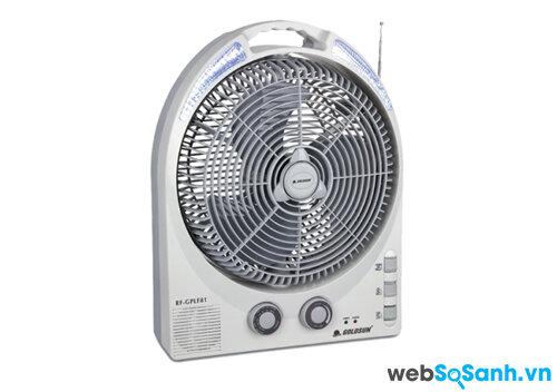 Đánh giá quạt tích điện Goldsun RF-GPLF81