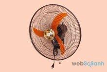Đánh giá quạt treo tường điện cơ Hà Nội QTT-450 giá rẻ
