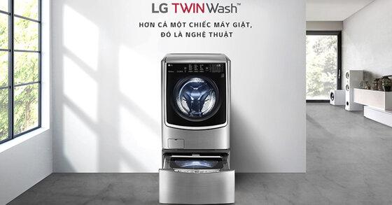 Đánh giá review LG Twin Wash : giặt & vắt 2 lồng cùng lúc như vũ điệu tình yêu của bạn - Đây là chiếc máy giặt bán chạy số 1 thế giới và ai cũng muốn trải nghiệm nó
