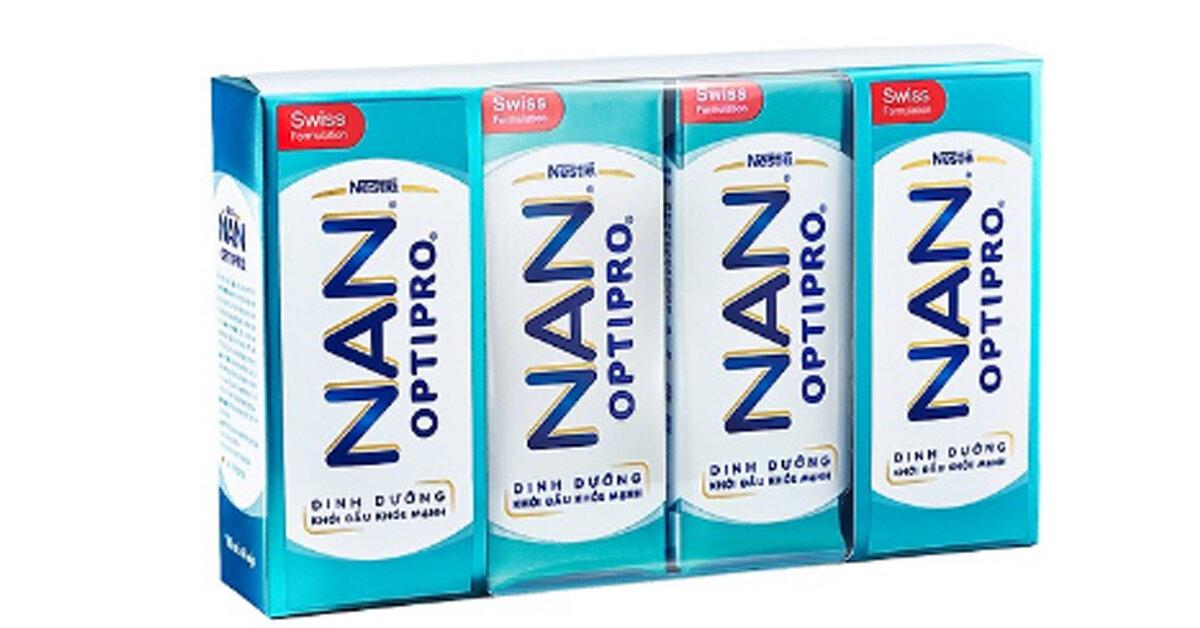 Đánh giá review sữa nước Nestle Nan Optipro có thể thay thế sữa Nan cho bé không ?