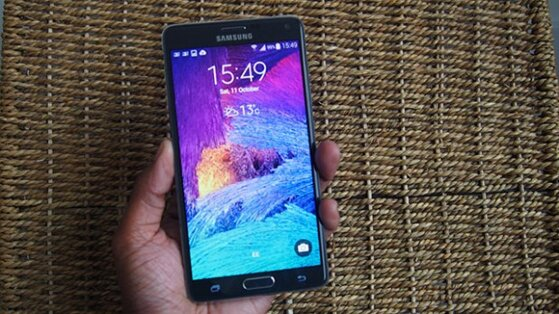 Đánh giá Samsung Galaxy Note 4 – Màn hình sắc nét đến khó tin (Phần 1: Thiết kế)