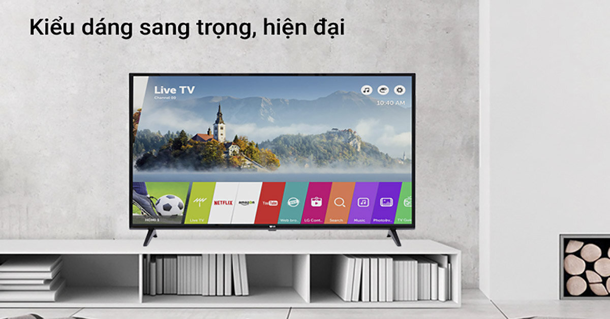 Đánh giá smart tivi LG 4K 49 inch 49UJ633T: Kích thường vừa vặn – Giá thành hấp dẫn