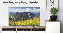 Đánh giá smart tivi Sony 4K X7500F 49 inch: Thiết kế hiện đại – Kiểu dáng chắc chắn