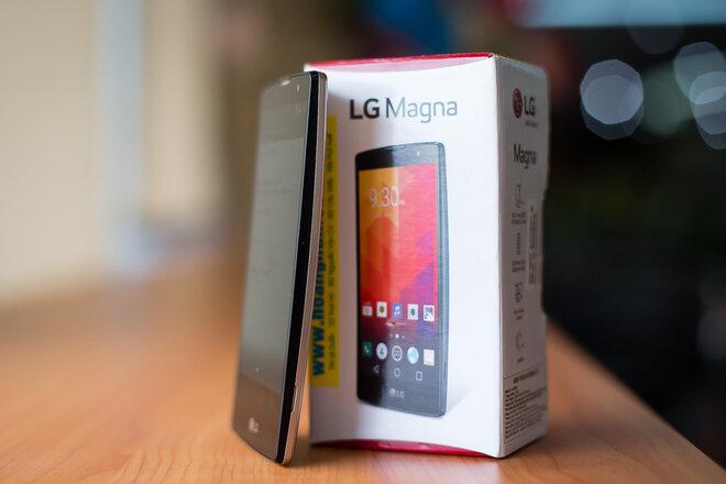 Đánh giá smartphone giá mềm LG Magna của LG