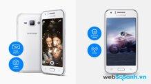 Đánh giá smartphone giá rẻ Galaxy J1 của Samsung