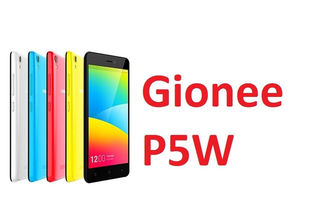 Đánh giá smartphone giá rẻ Gionee Pioneer P5W