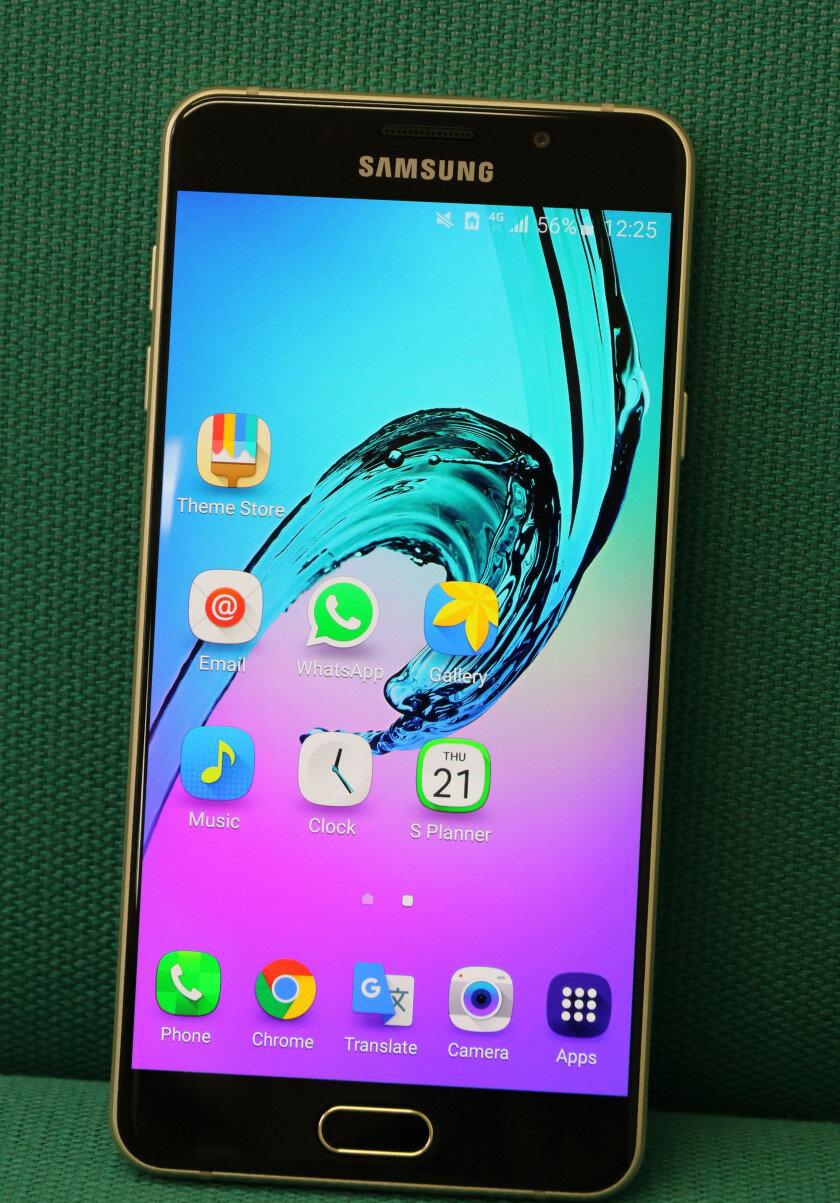 Đánh giá smartphone tầm trung Galaxy A7 (2016) của Samsung