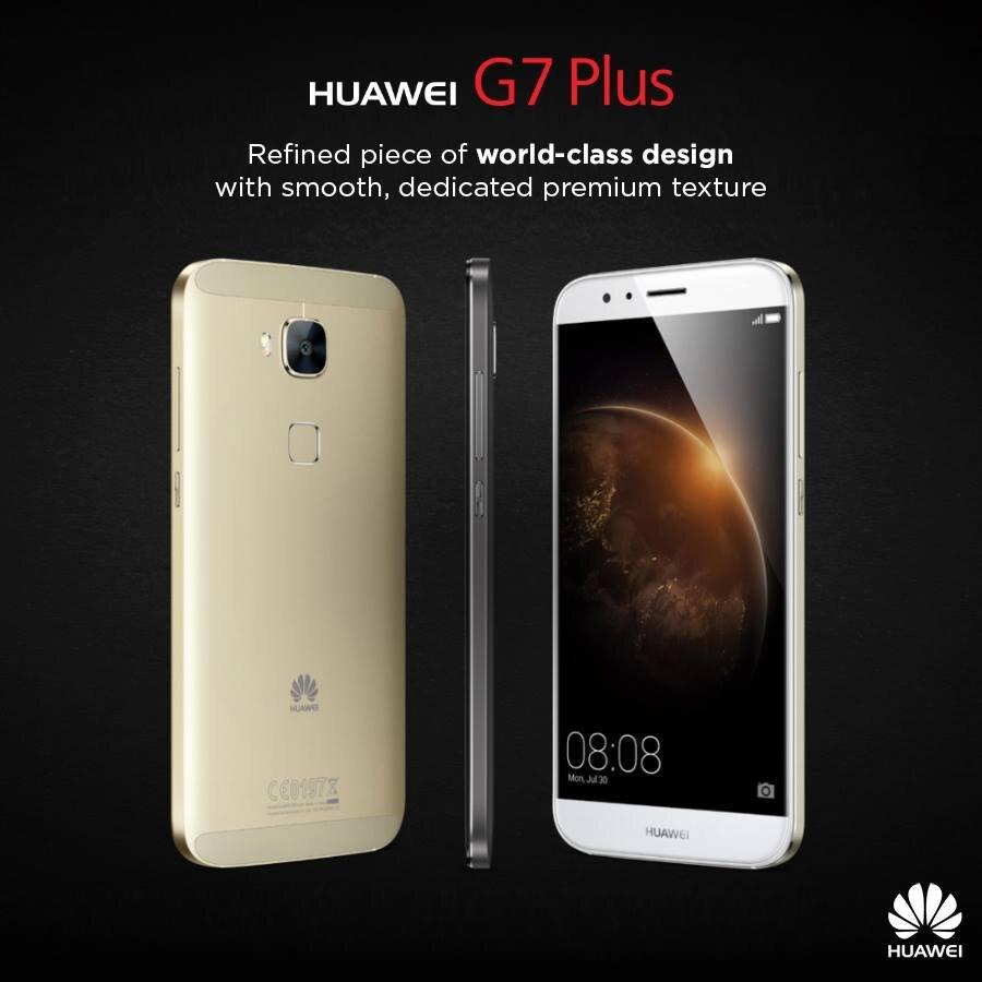 Đánh giá smartphone tầm trung Huawei G7 Plus