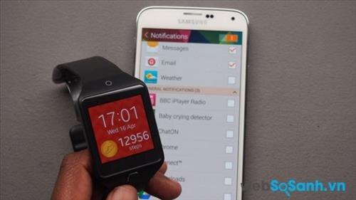 Đánh giá smartwatch Samsung Gear 2 Neo