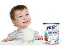 Đánh giá sữa bột Celia Expert số 2 cho bé từ 6-12 tháng tuổi