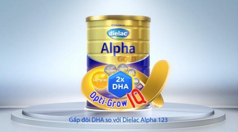 Đánh giá sữa bột Dielac Alpha Gold của Vinamilk