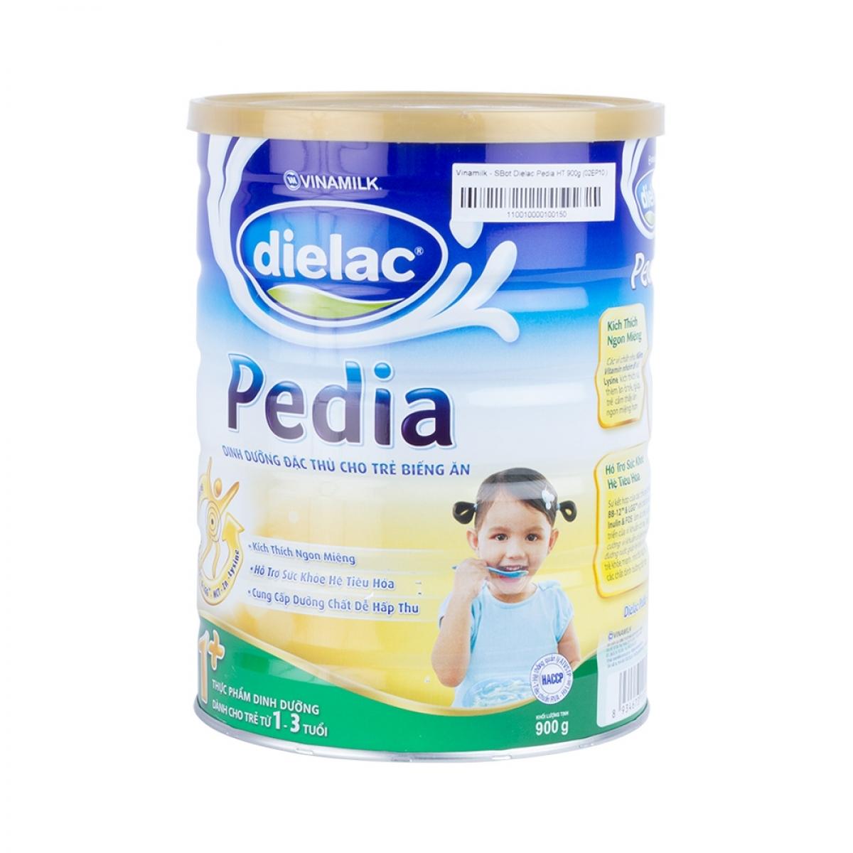 Đánh giá sữa bột Dielac Pedia của Vinamilk- Sữa dành cho trẻ biếng ăn, chậm  tăng cân | websosanh.vn