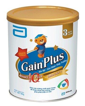 Đánh giá sữa bột Similac Gain Plus IQ 3