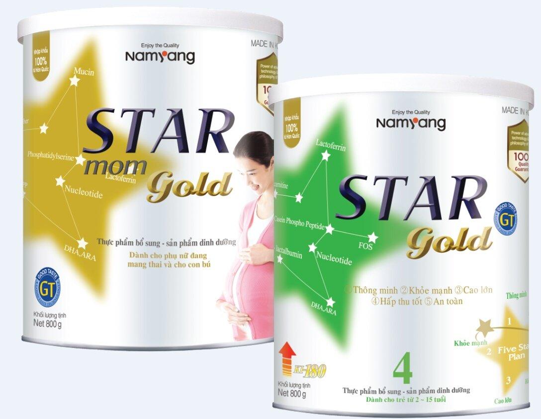 Đánh giá sữa bột Star Gold 4 của Hàn Quốc