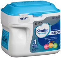 Đánh giá sữa công thức dành cho bé dưới 1 tuổi Similac Advance Non GMO